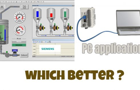 Siemens HMI or PC application Which is better?