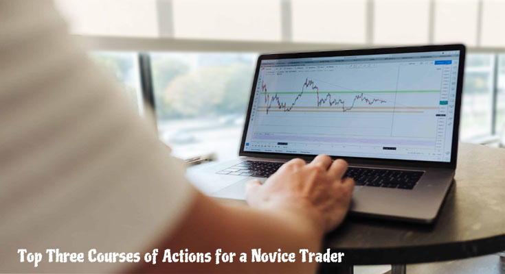 Top Three Courses of Actions for a Novice Trader